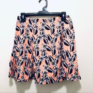 Forever 21 Pink Floral Skirt